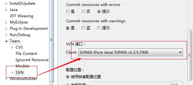 svn error validating location